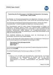 Festlegung Grundversorger (PDF 112 KB) - Üwag Netz GmbH