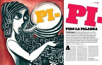"""""""Pido la palabra"""". Revista sabatina SOMOS, El Comercio de Lima"""
