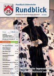 Rundblick 10-2013 - Stadt Preußisch Oldendorf