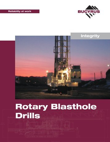 Bucyrus Rotary Blast drills.pdf - TransDiesel