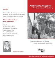Ambulante Angebote - Stiftung Scheuern