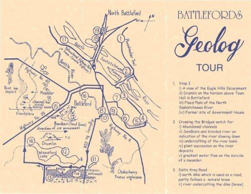 Battleford Geolog Tour Brochure pdf - Tourism Saskatchewan