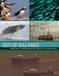 Out of Balance: Industrial Fishing and the