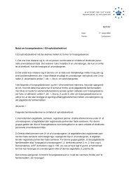 Notat om forsørgelseskrav i EU-opholdsdirektivet - Ny i Danmark