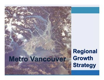 Metro Vancouver Regional Growth Strategy