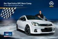 Der Opel Astra OPC Race Camp. - Opel-Infos.de