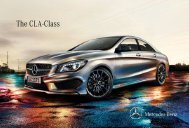 The CLA-Class - Mercedes Benz