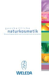 naturkosmetik - Weleda