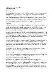 AGB als PDF - CHEFS CULINAR