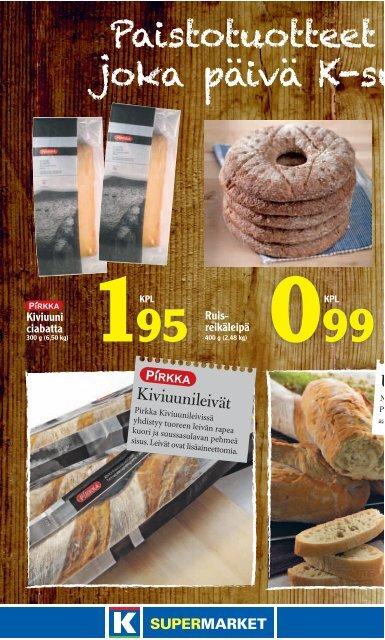 TARJOUKSET VOIMASSA MA-KE 28.-30.1. - K-supermarket