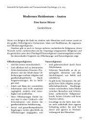 Modernes Heidentum – Asatru - Zeitschrift für Spiritualität und ...
