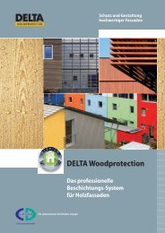 DELTA Woodprotection - CD-Color GmbH & Co.KG