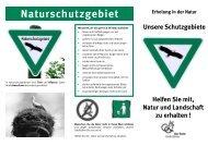 Erholung in der Natur — Unsere Schutzgebiete - Kreis Groß-Gerau