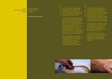 Broschüre - bei TCM-Chan
