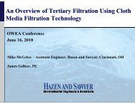 An Overview of Tertiary Filtration Using Cloth Media Filtration ...
