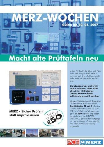 MERZ-WOCHEN - MERZ GmbH