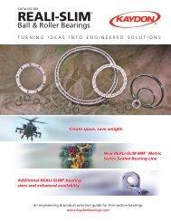 Catalog 300 - Kaydon Bearings