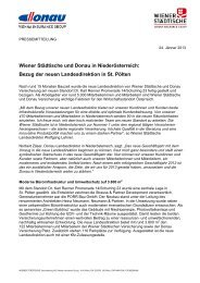 Bezug der neuen Landesdirektion in St. Pölten - Strauss & Partner ...