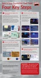 Spot & Stop Counterfeit Card Fraud - Devon & Cornwall Police