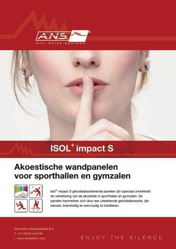 ISOL impact S - Stedebouw en Architectuur