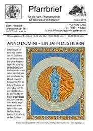 Lesen - Bistum