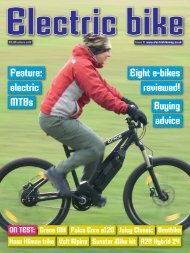 Issue Six - Spring 2013 - Electric Bike Magazine