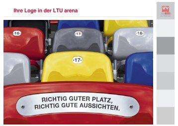 Ihre Loge in der LTU arena - Esprit Arena