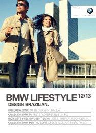 Colecţia BMW Lifestyle 2012/ 2013 (PDF 7.07 MB)