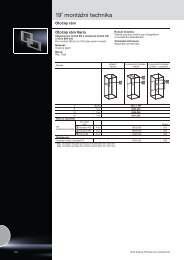 19˝ montážní technika - Rittal