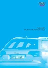 Audi A4/S4 Fakta och cirkapriser maj 2007 - H-kan.se