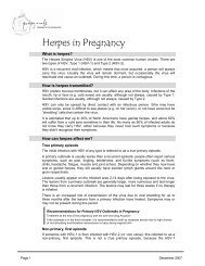 Herpes in Pregnancy - Pomegranate Community Midwives