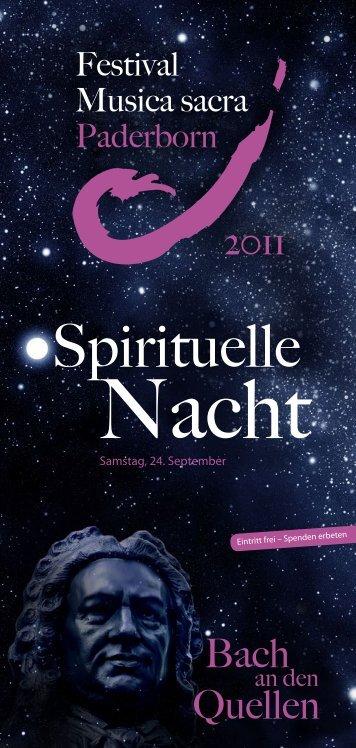 Spirituelle - Festival Musica Sacra