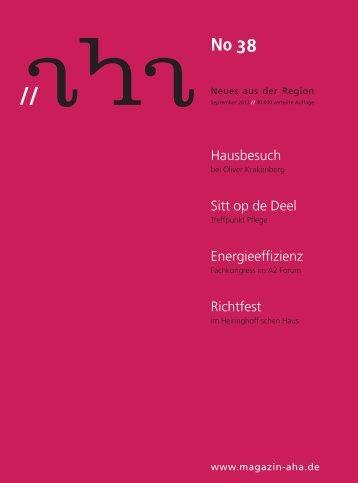 Hausbesuch Sitt op de Deel Energieeffizienz Richtfest - aha-Magazin