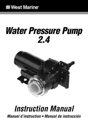 red lion jet pump manual