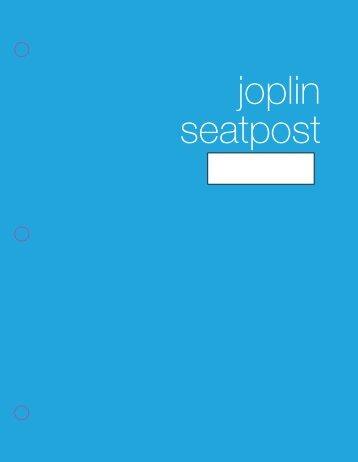 joplin seatpost