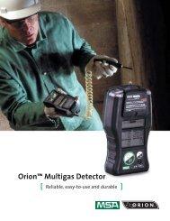 Orion™ Multigas Detector