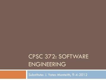 Lecture Slides - Clemson University