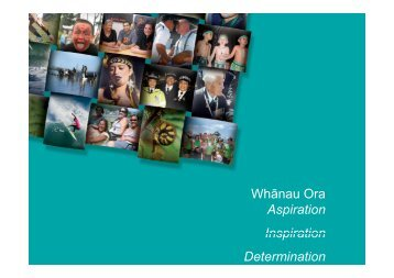 Whanau Ora Integrated Contracts