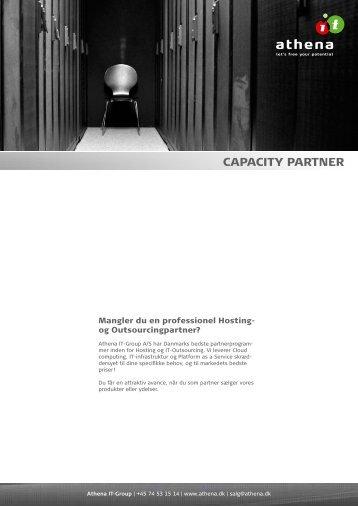 Capacity Partner Program - Athena
