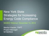 Marilyn Kaplan, NYSERDA, presentation - National Association of ...