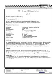 Anwendungshinweis JKL 30 - Judo Wasseraufbereitung GmbH