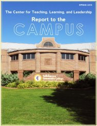 Center for Teaching, Learning, and Leadership Report to the Campus