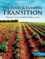 The Food and Farming Transition - Post Carbon Institute