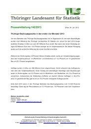 Thüringer Bauhauptgewerbe in den ersten vier Monaten 2013