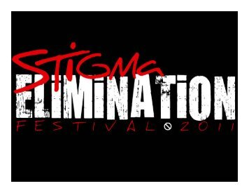 Stigma Elimination Slide Show - HCV Advocate