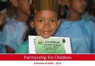 A Review of 2009 – 2010 - Partnership for Children