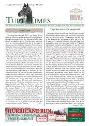 pferde - Turf-Times Deutschland