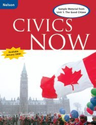 Civics Now - Nelson Education