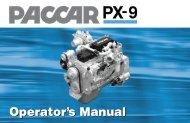 paccar px-9 - Peterbilt Motors Company