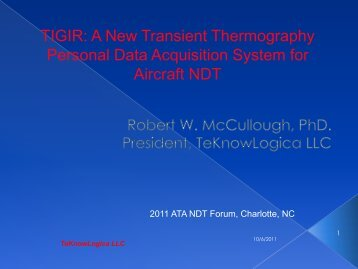 TIGIR:ACompact IR Viewer for Thermographic NDT of Aircraft